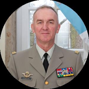 Général Pascal Facon — Directeur du Centre de doctrine et d'enseignement du commandement de l'armée de Terre