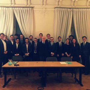 Rencontre avec le Président Valéry Giscard d'Estaing - Janvier 2018
