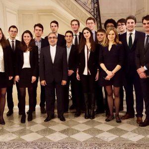 Rencontre avec l'Ambassadeur d'Iran en France Ali Ahani - Mars 2017