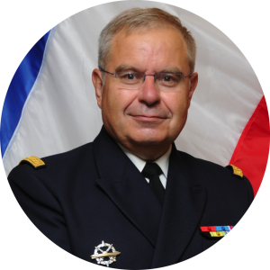Amiral Bernard Rogel —Chef d'état-major particulier de François Hollande